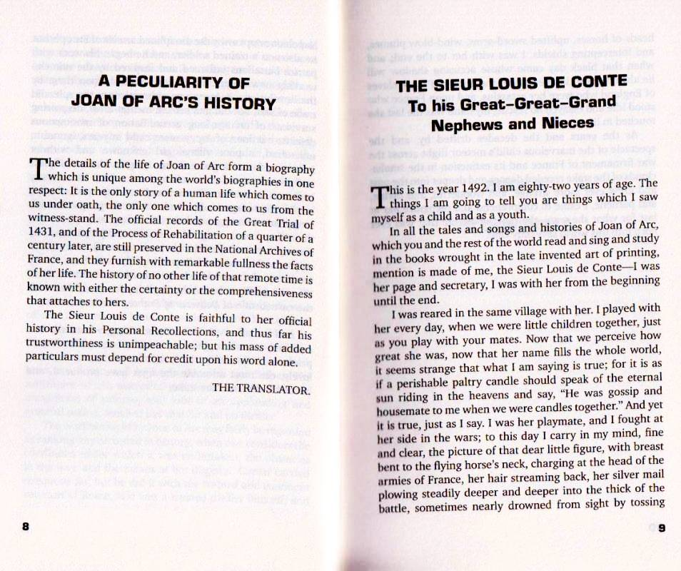 Personal Recollections of Joan of Arc. Фото N2